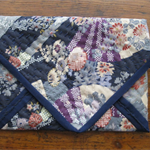 JAPANESE BORO STITCHED CLUTCH
