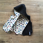 Size 1 Denim Reversible Vest - Nautical / Denim READY TO POST