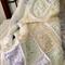 Crochet Pastel Patchwork Blanket/Crochet Child's/Cot Blanket