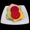FELT FOOD SALAD WHOLEMEAL SANDWICH  LETTUCE CHEESE BEETROOT TOMATO