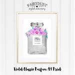 Violet Classic Parfum A4 Print