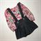 Girls Suspender Shorts - Sizes 6mths - 5