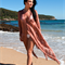 Silk cover up, kaftan, Perfect for beach, cruise, resort, holiday wear