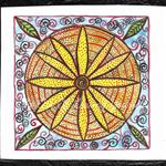Mandala Original Mini Painting