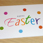 Happy Easter Card - happy & bright!
