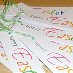 Easter Gift Tags - Set 10 - school friends - family - teachers