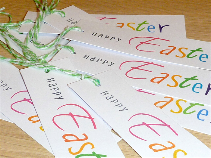Easter gift tags set 10 school friends family teachers easter gift tags set 10 school friends family teachers negle Gallery