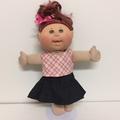 Dolls/Teddies Denim Skirt and Crop Top