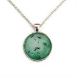The Green Dandelion | Choose silver or bronze | DL006