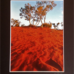 'Red Sands, NT' Mounted Australian Landscape Photography