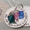 Gravillea Necklace  {can have text on both sides}