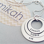 Vanilla Necklace {personalised by you}