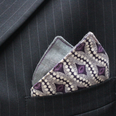 Pocket Square - Purple dreaming