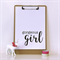 Monochrome Gorgeous Girl A4 Print Wall Art Nursery