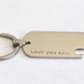 Groom Gift, Bottle Opener Dog Tag, Wedding Ideas, Gift For Men, Keyring Dog Tag