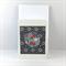 Handcrafted gift card - indigo