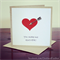 Love Greeting Card, Birthday Card, Just Because, Valentine's Day Card, Humour