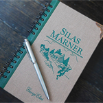 Silas Marner notebook - George Eliot - Notebook made from an upcycled book