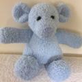 Ben - Hand knitted bear