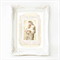 Madonna and child religious French vintage art print, A4