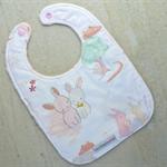 Baby Bib - Girl - Bunnies