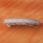 Pale Blue & Grey Hair Clip