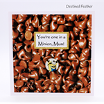 For Mum, Happy Birthday,Chocolate, Greeting Card, Mother, Minion,Humour,Funny
