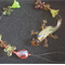 Lampwork Gecko Beaded Sun Catcher