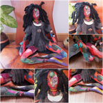 Cloth Art doll