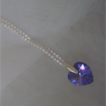 Swarovski Xillion Heart Necklace