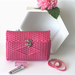 "Hot Pink Clutch ""Fiesta Collection"""
