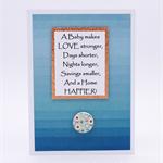 Newborn Card, New Baby, Newborn, Boy, Girl, New Mother, Blessingway, Baby Shower