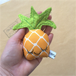 Pineapple Baby Rattle