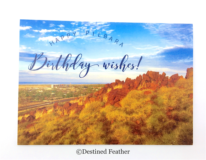 Birthday Card Happy Birthday Photographic Karratha Western – Birthday Card Australia