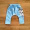 Size 000 Harem Pocket Pants - Blue Cord / Snowflake READY TO POST