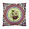 20% Off Vintage Vintage Lilliums Violets Leopard Print Cushion Cover