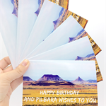 Happy Birthday Card, Birthday, Photographic, Pilbara, For Him, For Her