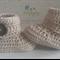 Fawn Crochet Baby Booties