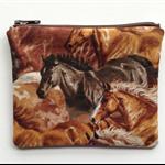 Coin Purse - Horse Print