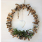 Driftwood Wreath with white  clay heart
