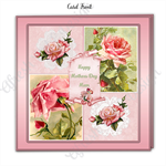 Mother's Day Pink Roses Vintage