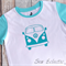 Blue Kombie Van T-shirt Size 3 *FREE POSTAGE*