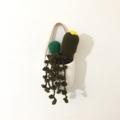 Crochet Cacti in Hanging Planter