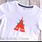 Orange Tee Pee with arrows T-shirt Size 3 *FREE POSTAGE*