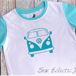 Blue Kombie Van T-shirt Size 3