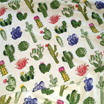 Cactus Garden Baby Blanket Swaddle Wrap