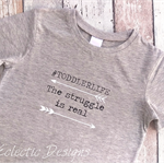 #Toddlerlife Grey Marle T-shirt Size 3