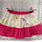 Horse skirt - twirly skirt with cute pony print - sz 4-6 approx