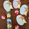 Easter treat bag kit - cute bunny & egg - Set 12