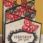 Handmade cascading card for any occasions